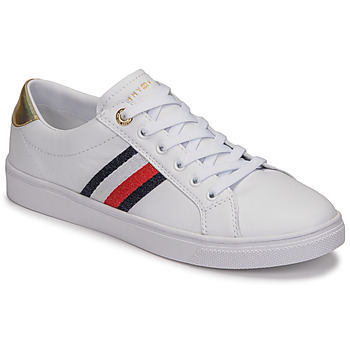 Shoes Women Low top trainers Tommy Hilfiger TH CORPORATE CUPSOLE SNEAKER White