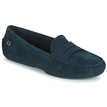 Shoes Women Loafers Tommy Hilfiger TOMMY ESSENTIAL MOCCASIN Marine