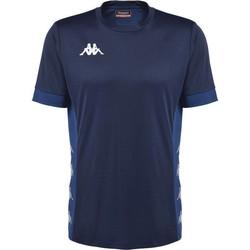 Clothing Short-sleeved t-shirts Kappa Maillot  dervio violet