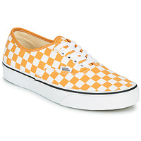 Shoes Women Low top trainers Vans AUTHENTIC Yellow