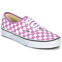 Shoes Women Low top trainers Vans AUTHENTIC Lilac