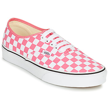 Shoes Women Low top trainers Vans AUTHENTIC Pink