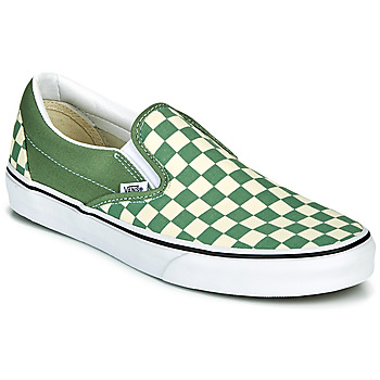 Shoes Men Slip-ons Vans CLASSIC SLIP ON Green