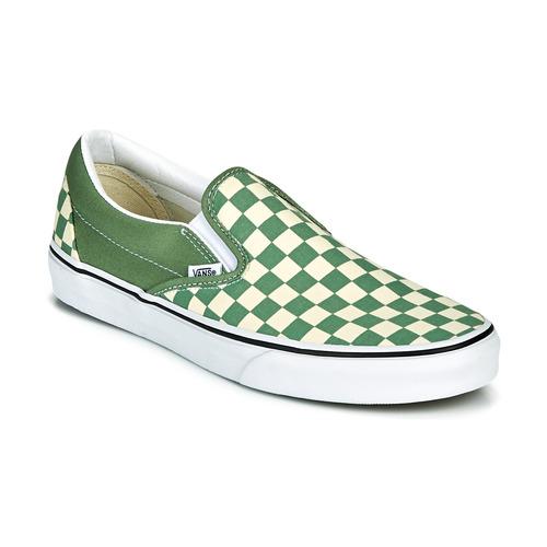 Shoes Men Slip-ons Vans CLASSIC SLIP ON Green