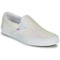 Shoes Women Slip-ons Vans CLASSIC SLIP ON Uv / Glitter / Beige / Pink