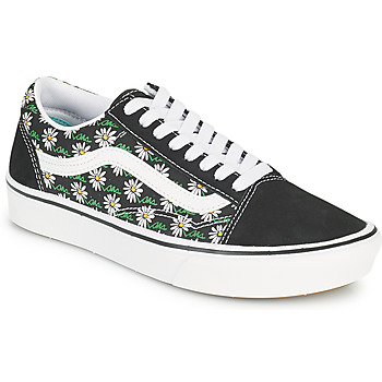 Shoes Women Low top trainers Vans COMFYCUSH OLD SKOOL Black / White