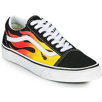 Shoes Low top trainers Vans OLD SKOOL Black / Orange