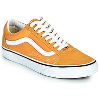 Shoes Women Low top trainers Vans OLD SKOOL Yellow
