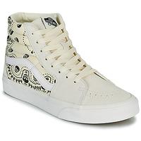Shoes Hi top trainers Vans SK8 HI Beige / Black