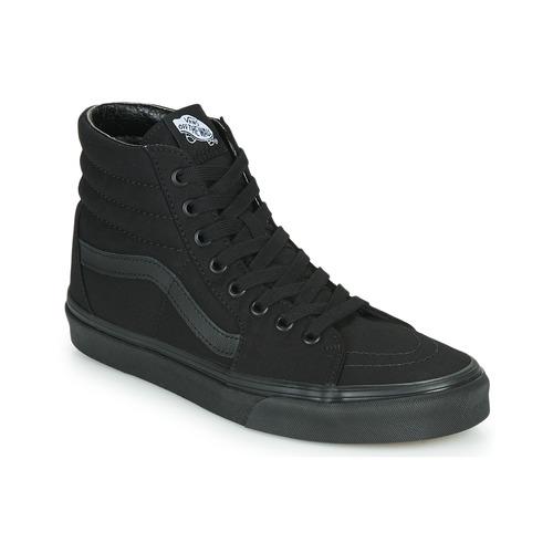 Shoes Men Hi top trainers Vans SK8 HI Black