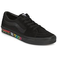 Shoes Hi top trainers Vans SK8 LOW Black