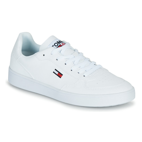Shoes Women Low top trainers Tommy Jeans TOMMY JEANS CUPSOLE SNEAKER White