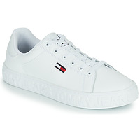 Shoes Women Low top trainers Tommy Jeans COOL TOMMY JEANS SNEAKER White