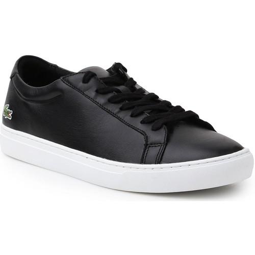 Shoes Men Low top trainers Lacoste L.12.12 116 1 7-31CAM0137024 lifestyle shoes black