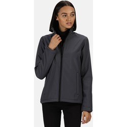 Clothing Women Coats Professional ABLAZE Waterproof Softshell Jacket Grey