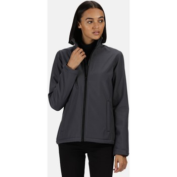Clothing Women Coats Professional ABLAZE Waterproof Softshell Jacket Seal Grey Black Grey Grey