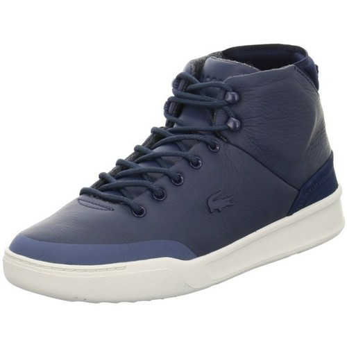 Shoes Men Hi top trainers Lacoste Explorateur Clas Navy blue