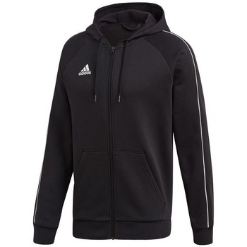 Clothing Men Sweaters adidas Originals Core 18 FZ Hoodie Black