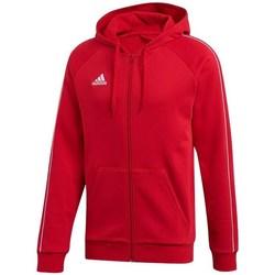 Clothing Men Sweaters adidas Originals Core 18 FZ Hoodie Red