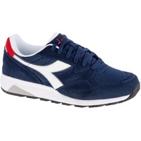 Shoes Men Low top trainers Diadora N902 S White,Navy blue