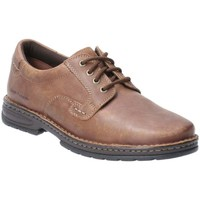 Shoes Men Loafers Hush puppies Outlaw II Mens Lace Up Shoes brown