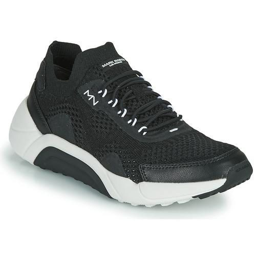 Shoes Men Low top trainers Skechers ENDURO-SILVERTON Black