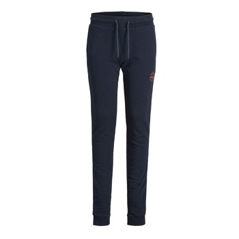 Clothing Boy Tracksuit bottoms Jack & Jones JJIGORDON JJSHARK SWEAT PANT Marine