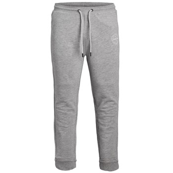 Clothing Boy Tracksuit bottoms Jack & Jones JJIGORDON JJSHARK SWEAT PANT Grey