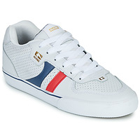 Shoes Men Low top trainers Globe ENCORE-2 White / Blue / Red