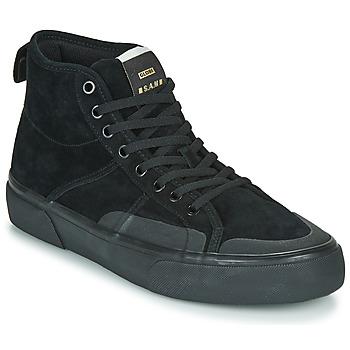 Shoes Men Hi top trainers Globe LOS ANGERED II Black