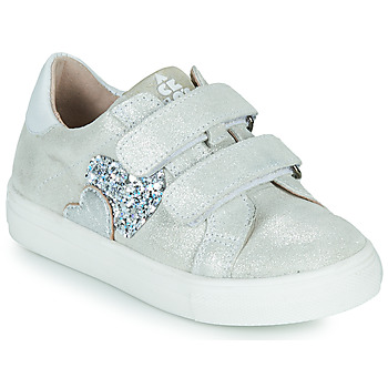 Shoes Girl Low top trainers Acebo's 5471-PLATA-B Silver