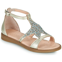 Shoes Girl Sandals Acebo's 9895GE-PLATINO-C Gold