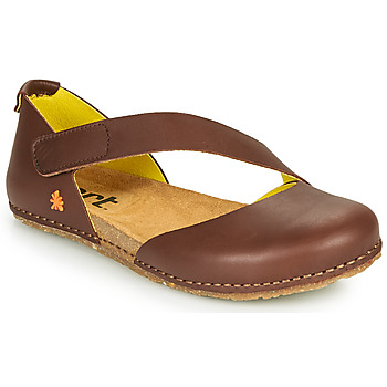 Shoes Women Flat shoes Art CRETA Brown