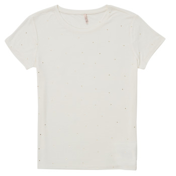 Clothing Girl Short-sleeved t-shirts Only KONMOULINS White