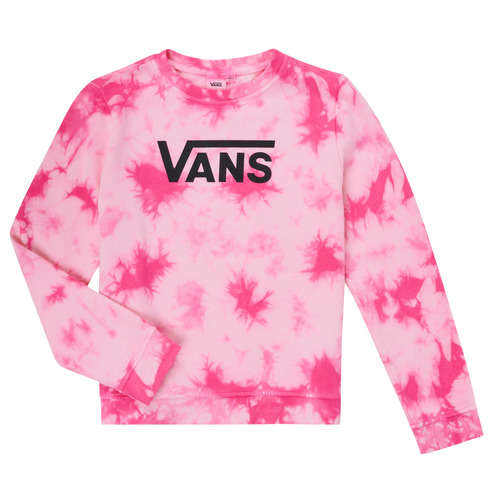 Clothing Girl Sweaters Vans HYPNO CREW Pink