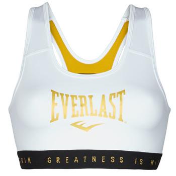 Clothing Women Sport bras Everlast EVL BRAND BR White / Gold
