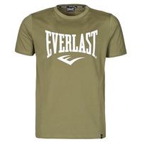 Clothing Men Short-sleeved t-shirts Everlast EVL- BASIC TEE-RUSSEL Khaki