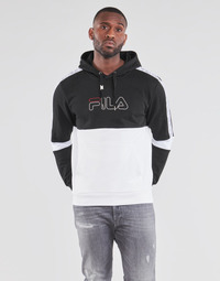Clothing Men Sweaters Fila JADON Black / Grey / White