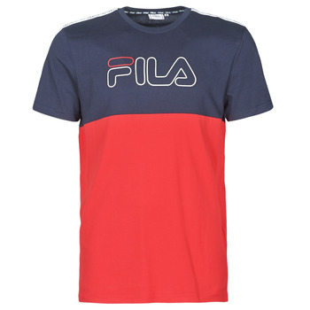 Clothing Men Short-sleeved t-shirts Fila JOPI Red / Marine