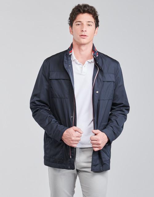 Clothing Men Jackets Geox WELLS FIELD Marine