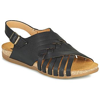 Shoes Women Sandals El Naturalista ZUMAIA Black