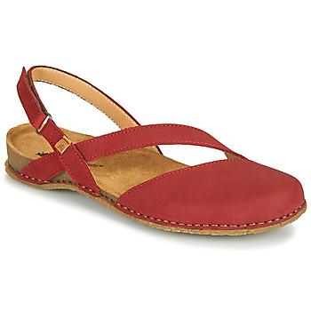 Shoes Women Sandals El Naturalista PANGLAO Red