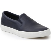 Shoes Women Slip-ons Lacoste Gazon Slip On 116 1 CAW 7-31CAW0116003 navy