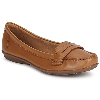 Shoes Women Loafers Hush puppies CEIL PENNY Brown