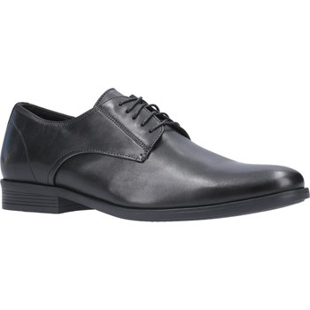 Shoes Men Derby Shoes Hush puppies HPM2000-77-1-6 Oscar Clean Toe Black
