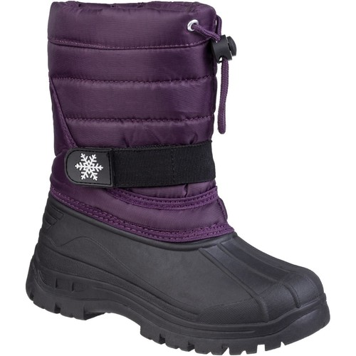 Shoes Snow boots Cotswold Icicle Purple