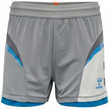 Clothing Women Shorts / Bermudas Hummel Short de match  HmlInventus Femme gris