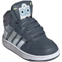 Shoes Children Hi top trainers adidas Originals Hoops Mid 20 I White, Graphite