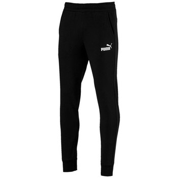 Clothing Men Tracksuit bottoms Puma Essential Sllim Black