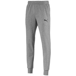 Clothing Men Tracksuit bottoms Puma Ess Logo Pants TR CL Grey